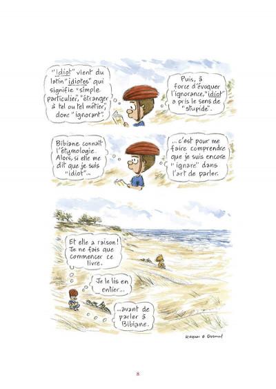 Page 9 L'étymologie avec Pico Bogue tome 3
