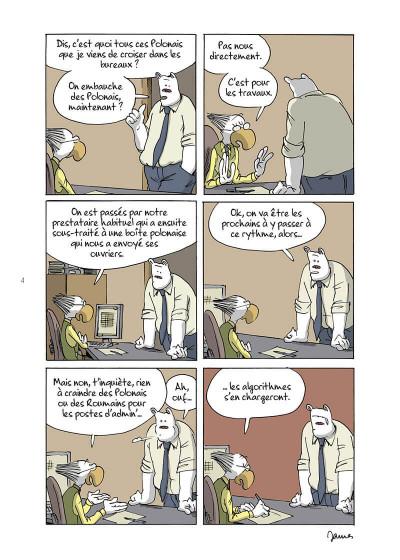 Page 4 Open space, pandémie, télétravail et autres contrarietés