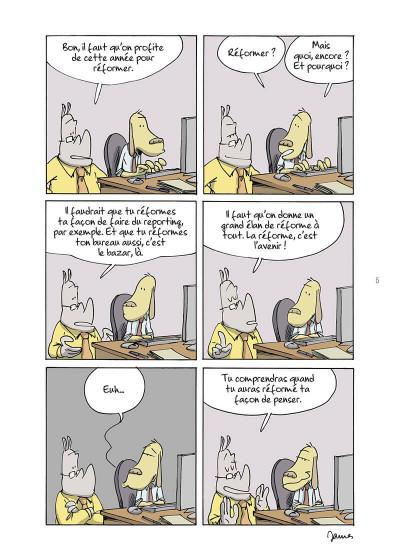 Page 5 Open space, pandémie, télétravail et autres contrarietés