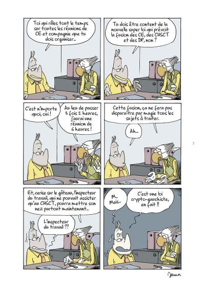 Page 7 Open space, pandémie, télétravail et autres contrarietés