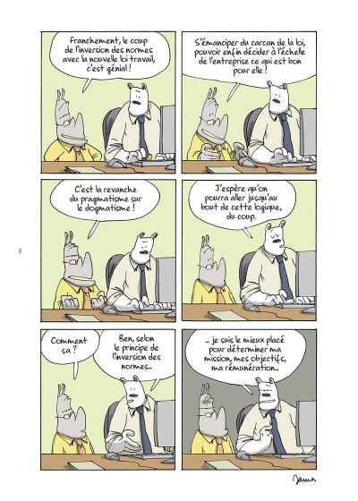 Page 8 Open space, pandémie, télétravail et autres contrarietés