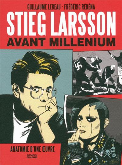 Couverture Stieg Larsson avant Millénium