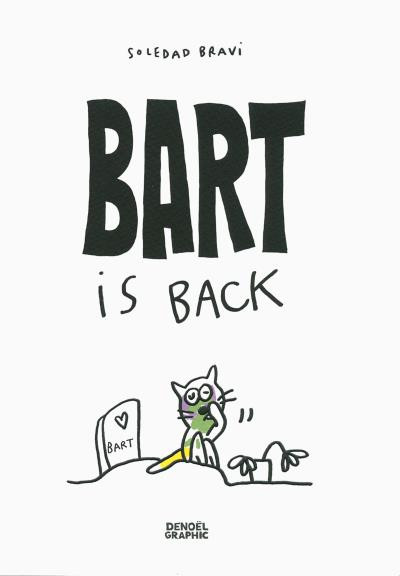 Couverture Bart is back