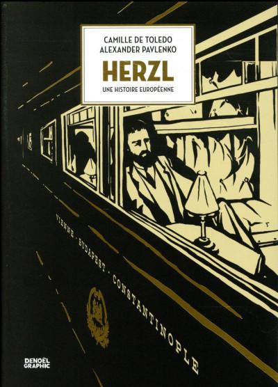 Couverture Herzl - Une histoire européenne
