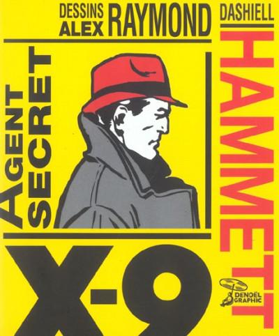 Couverture agent secret x-9