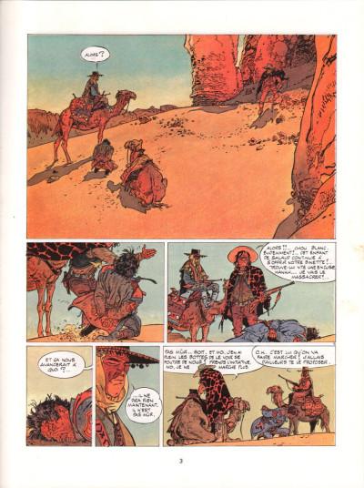Page 2 Jeremiah tome 2 - Du sable plein les dents