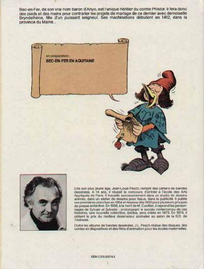 Dos Bec-en-fer tome 1 - Le complot de Bec-en fer (éd. 1980)