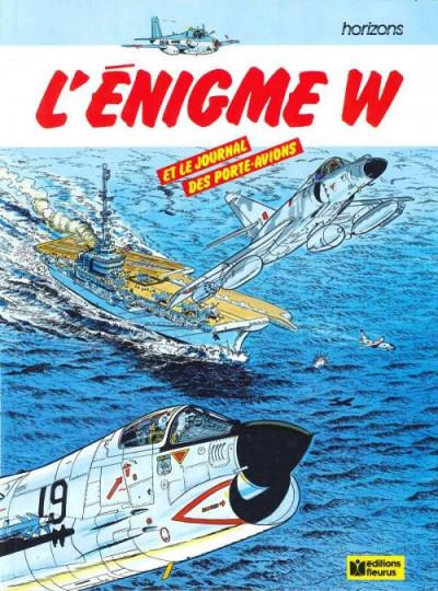 Couverture Énigme W (L') - L'énigme W (éd. 1986)