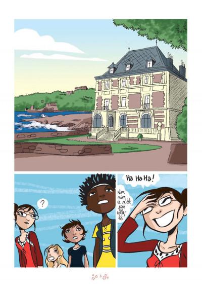 Page 1 la BD des filles tome 3 - sable ou galets ?