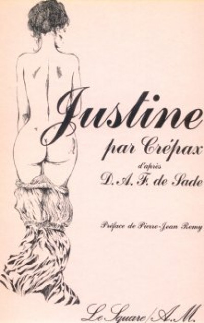 Couverture Justine