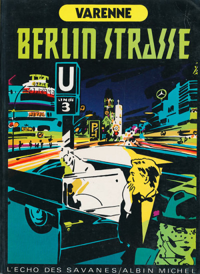 Couverture ardeur tome 4 - berlin strasse