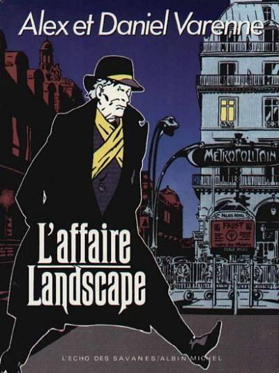 Couverture L'affaire landscape