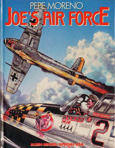 Couverture Joe's air force (éd. 1986)