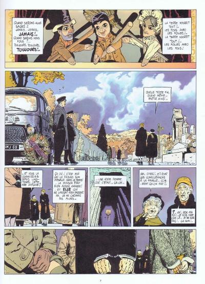 Page 1 Les errances de Julius Antoine tome 2 - la maison