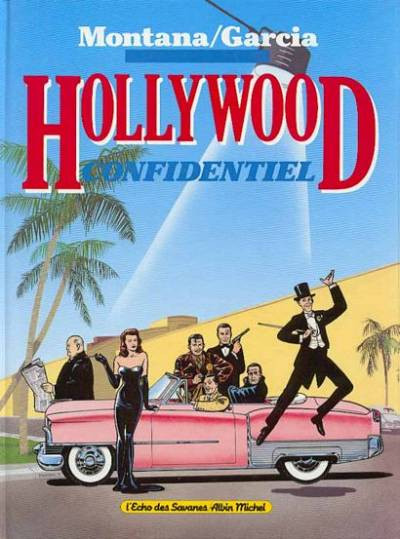 Couverture Hollywood confidentiel