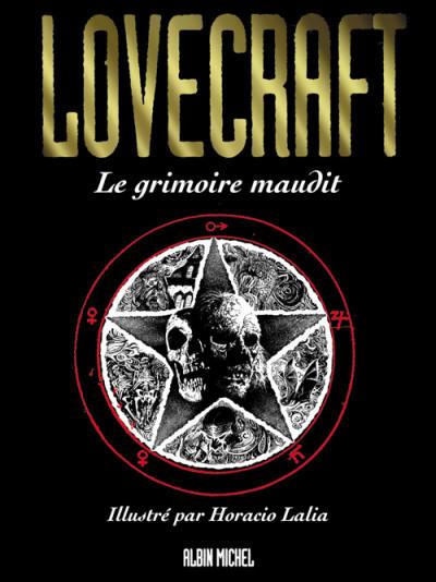 Couverture Lovecraft tome 1 - le grimoire maudit