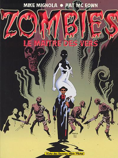 Couverture Zombies - le maître des vers