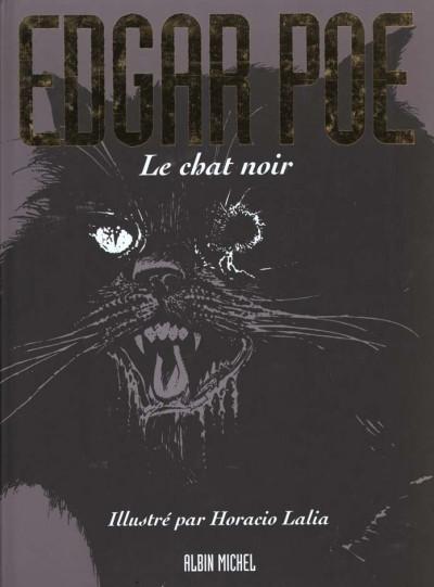 Couverture Edgar Poe le chat noir
