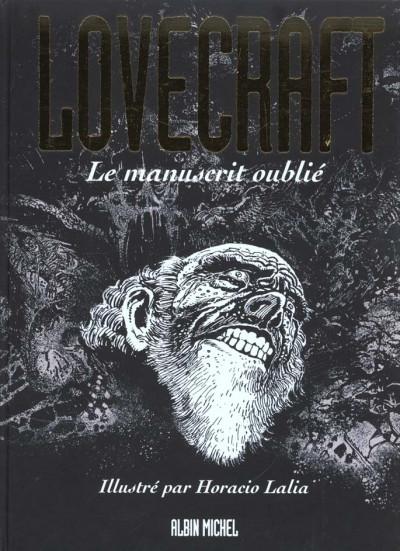 Couverture Lovecraft tome 2 - le manuscrit oublié