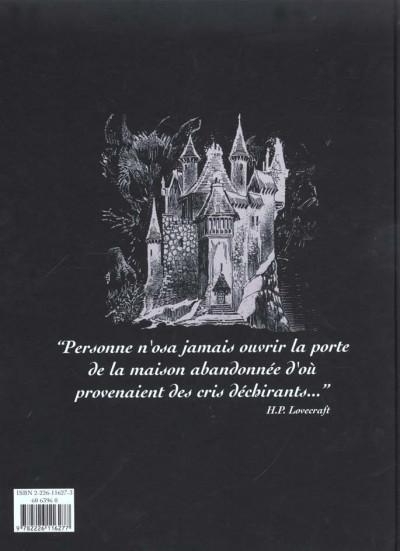 Dos Lovecraft tome 2 - le manuscrit oublié