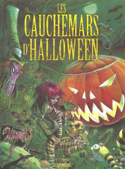 Couverture les cauchemars d'halloween