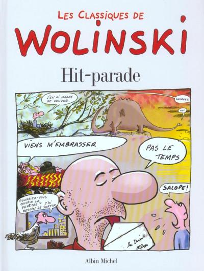 Couverture les classiques de wolinski ; hit-parade