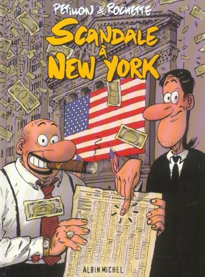 image de scandale à new york