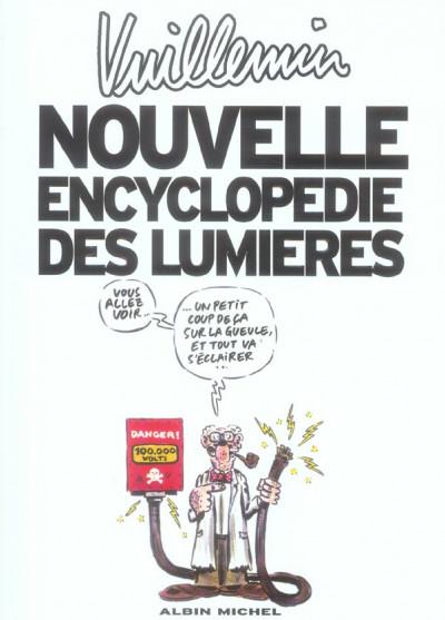 Couverture nouvelle encyclopédie des lumières
