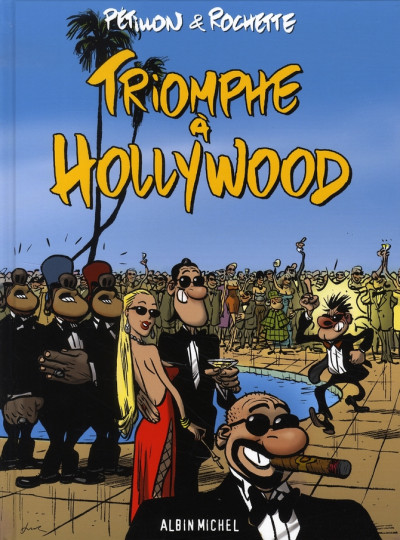 Couverture triomphe à hollywood