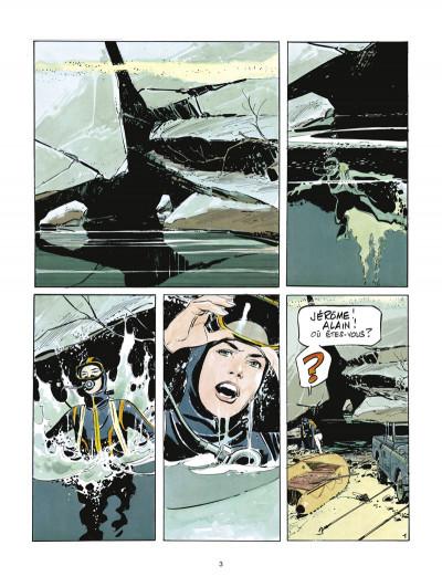 Page 1 la survivante ; intégrale