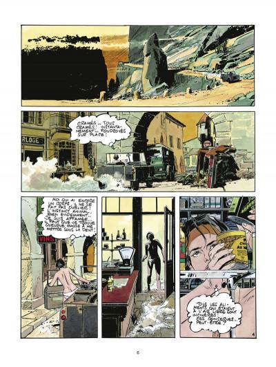 Page 4 la survivante ; intégrale