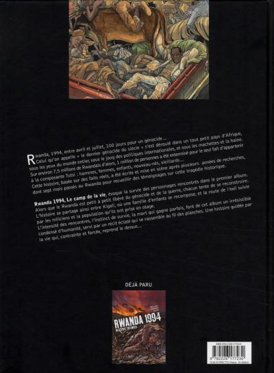 Dos rwanda 1994 tome 2 - le camp de la vie
