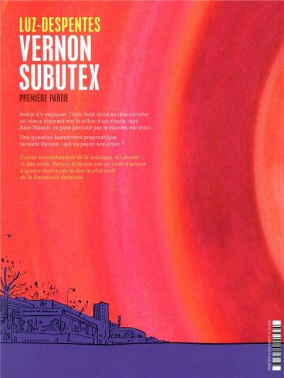Dos Vernon Subutex (BD) tome 1