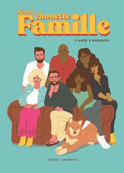 Couverture Notre chouette famille