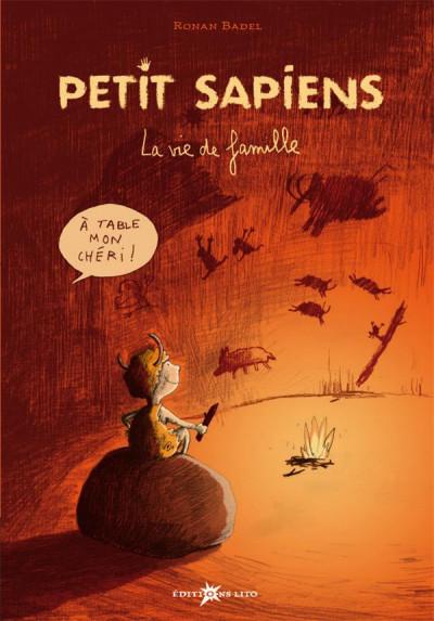 Couverture petit sapiens tome 1 - la vie de famille