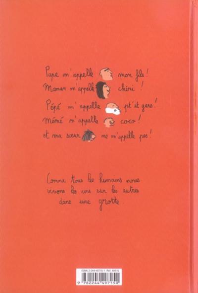 Dos petit sapiens tome 1 - la vie de famille