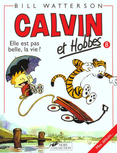 Couverture calvin et hobbes tome 8