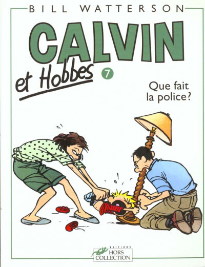 Couverture calvin et hobbes tome 7