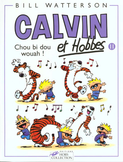 Couverture calvin et hobbes tome 11
