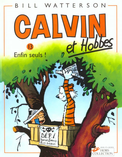 Couverture calvin et hobbes tome 13