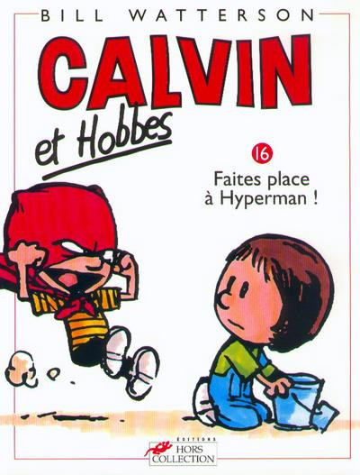 Couverture calvin et hobbes tome 16
