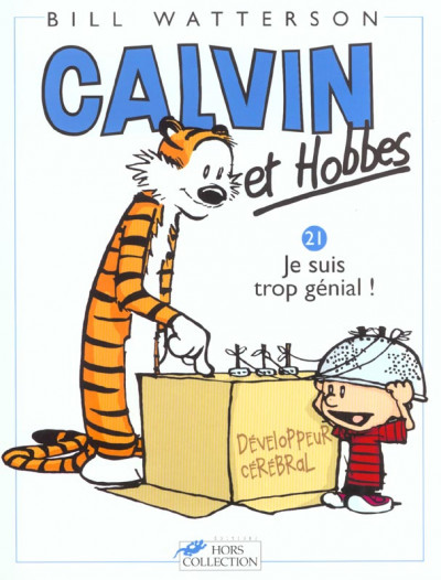 Couverture calvin et hobbes tome 21