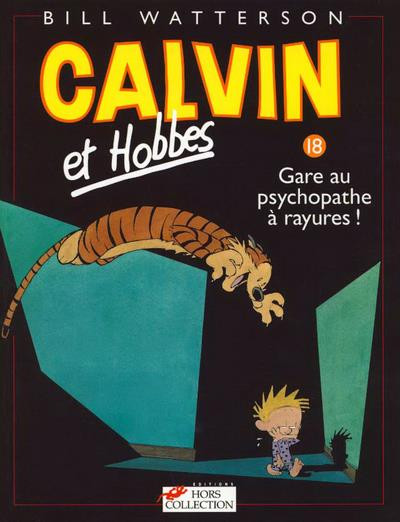 Couverture calvin et hobbes tome 18