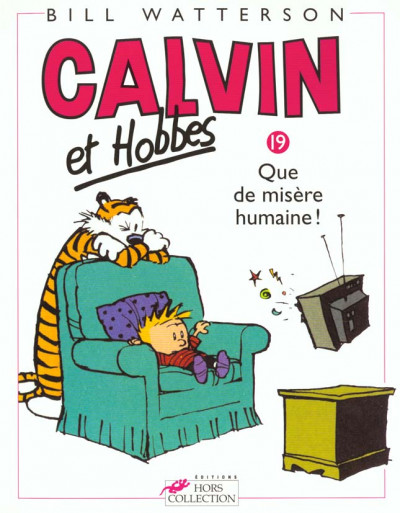 Couverture calvin et hobbes tome 19