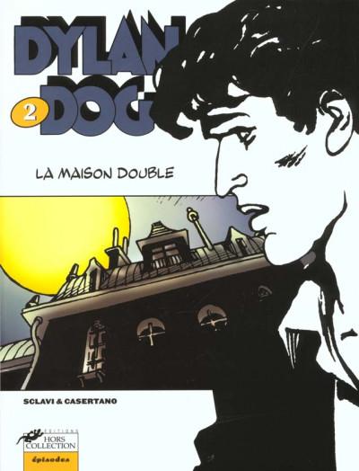 Couverture Dylan Dog tome 2 - la maison double