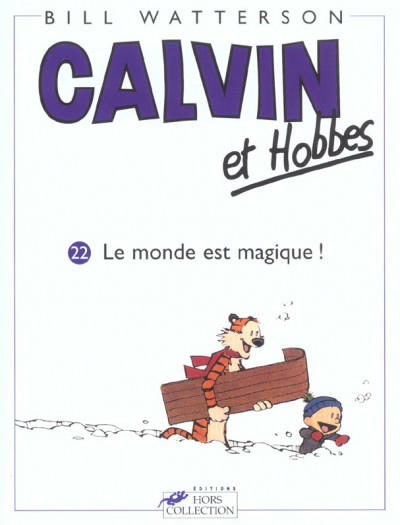 Couverture calvin et hobbes tome 22