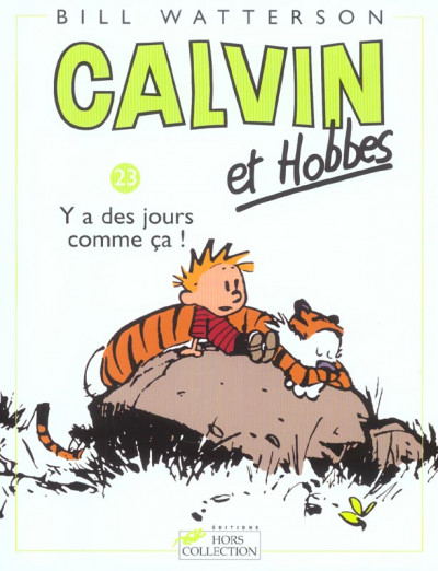 Couverture calvin et hobbes tome 23