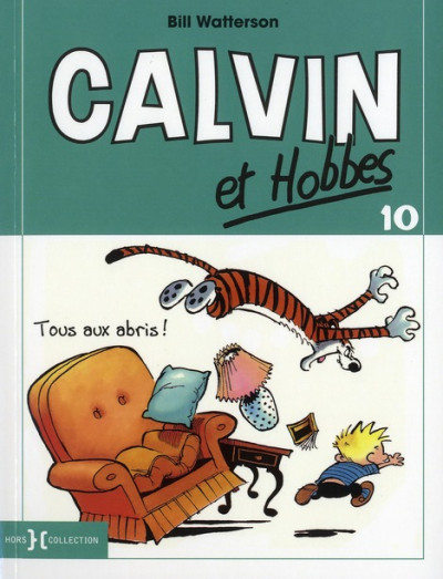Couverture Calvin et Hobbes T.10 - tous aux abris !