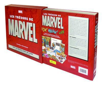 Couverture les trésors de Marvel