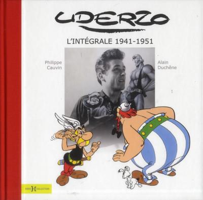 Couverture uderzo ; intégrale 1941-1951